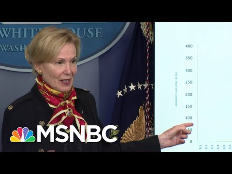 New White House Model Projects 100k - 200k Deaths From Coronavirus | MSNBC