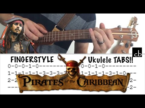 Pirates Of The Caribbean Theme Ukulele Cover Kevin Video