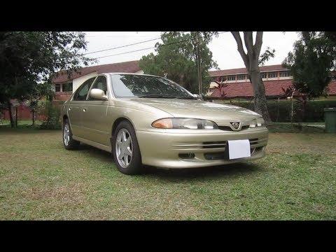 2002 Proton Perdana V6 Start-Up, Full Vehicle Tour and Quick Drive