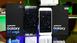 Samsung Galaxy S7 против S7 Edge