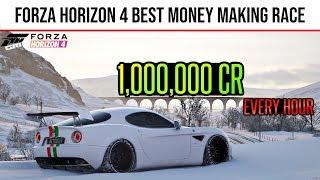 Forza Horizon 4 - *FAST* How to earn 1 Million CR in 1 Hour | Forza Horizon 4 Money Method