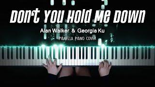 Alan Walker & Georgia Ku - Don't You Hold Me Down | Piano Cover by Pianella Piano (Piano Beat)