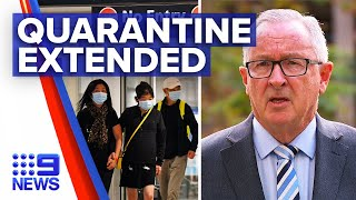 Coronavirus: NSW Health Minister tightens hotel quarantine rules | 9 News Australia