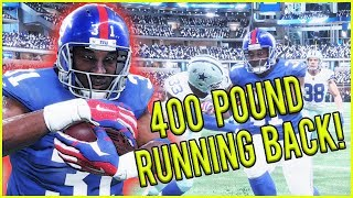 400 POUND RUNNING BACK IS A GLITCH! - Madden 18 Career Mode Ep.1