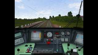 preview picture of video 'MSTS 1-es vonal bemutató : 9320. személy Tatabánya - Győr'