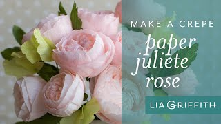 How To Make A Juliete Rose With Crepe Paper