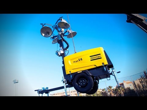 HiLight: See brightness, efficiency, quality and resistance in a new diesel light tower Atlas Copco - zdjęcie