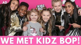 WE MET KIDZ BOP! | MUMMY VLOG | #AD