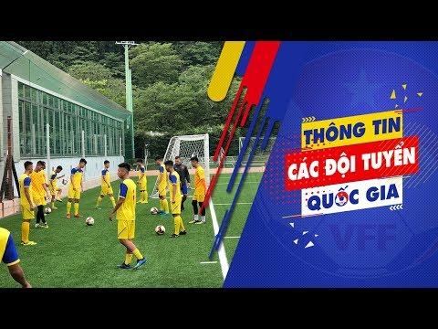 ĐT U18 Việt Nam tập trung cao độ ngay buổi đầu tập luyện tại Gotemba, Nhật Bản