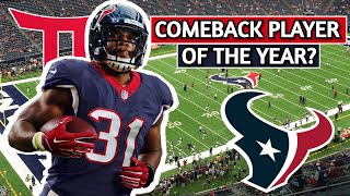 Houston Texans David Johnson Film Breakdown | Comeback Player Of The Year? | Or Awful Trade?