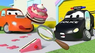 Украденные торты - Автопатруль в Автомобильном городе | Мультфильмы для детей - Авто Патруль
