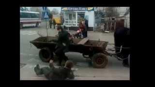 Прикольная пьяная драка в Новограде