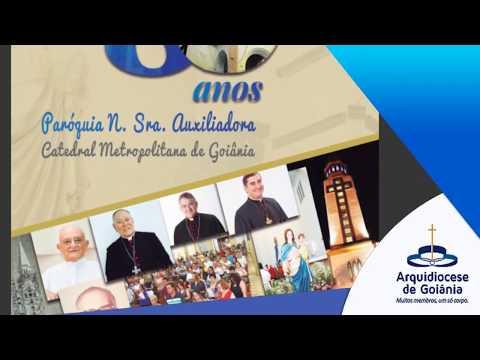 Revista comemorativa pelos 80 anos da Catedral de Goiânia