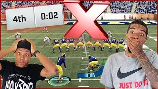 NCAA 20 College Football: Ohio State & Michigan Go Down To The Final Seconds!