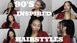 90's INSPIRED MARLEY TWIST HAIRSTYLES