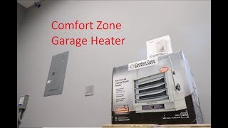 Comfort Zone Heater Install