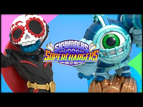 skylanders superchargers launch figures unboxing