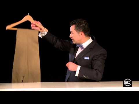 Cómo Doblar un Pantalón de Forma Increible - Bere Casillas (Elegancia 2.0)
