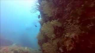 preview picture of video 'Séjour plongée à Niolon - UCPA - Juillet 2014 - GoPro'