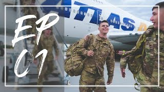 ARMY DEPLOYMENT: Episode 01. Traveling To Europe | Long Gray Lessons