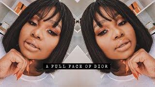 A FULL FACE OF DIOR | Cynthia Gwebu