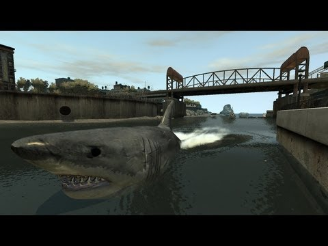 It's The Middle Of Shark Week And There's A Megalodon Roaming Liberty City