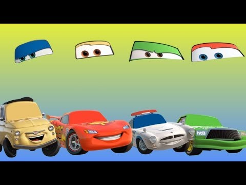 Wrong Eyes Disney Cars 3 - Lightning McQueen Colors For Kids - Finger Family Song Nursery Rhymes