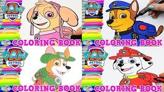 Paw Patrol Coloring Book Zuma Pup Episode Surprise Egg And Toy