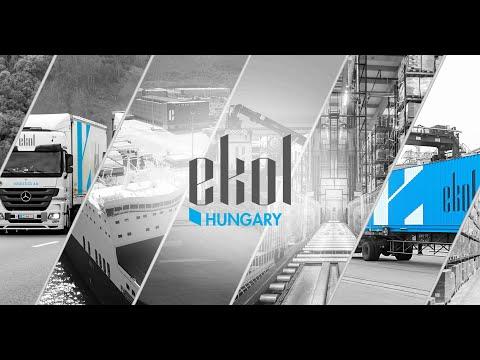 Ekol Logistics Hungary - Termékvideó