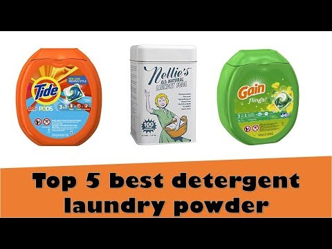 Top 5 Best Detergent Laundry Powder Reviews 2018 | All Wholesale