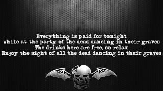 Avenged Sevenfold - Dancing Dead [Lyrics on screen] [Full HD]