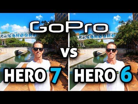 GoPro HERO 7 Black vs HERO 6! (4K)
