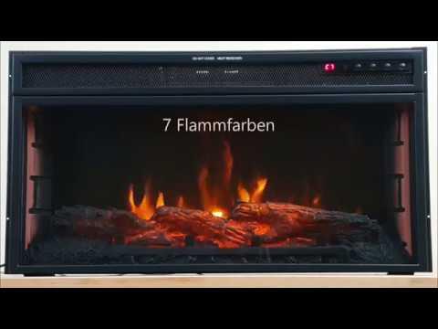 Theromstat Heizkörper mit Strom künstliches Kaminfeuer Kaminofen elektrisch