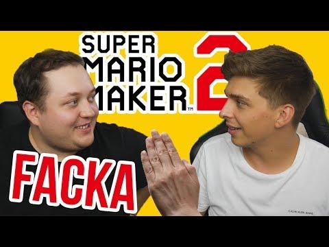 Hra na facku! | Super Mario Maker 2