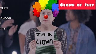 Erin the Annoying Vegan - Clown of July