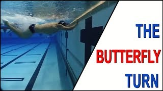 Swimming Skills and Drills – Butterfly Turn featuring Coach Randy Reese
