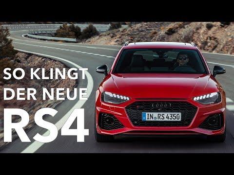 10 Fakten zum neuen 2020 Audi RS4 Avant: So klingt der Kombi! Real Sound Check Beschleunigung
