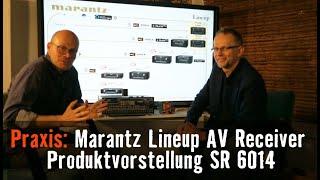 Marantz AV Receiver Vergleich Modelle 2019/2020, Vorstellung Marantz SR6014