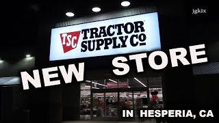 New Tractor Supply Co  Store