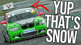 Surviving The Snow In My First Real Life Endurance Race