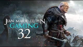 JEAN MARIE LE PEN GAMING 32 ASSASSIN'S CREED VALHALLA AKBAR