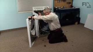 GE Dryer Repair – How to replace the Safety Thermostat