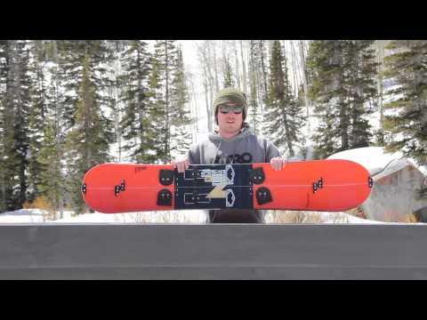 2014 Nitro Thunder Splitboard Snowboard Review
