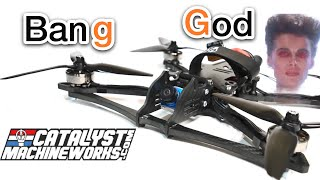 "BangGod Catalyst Machineworks Freestyle Frame - 6"" Freestyle best- Runcam Phoenix,T motor Stack"