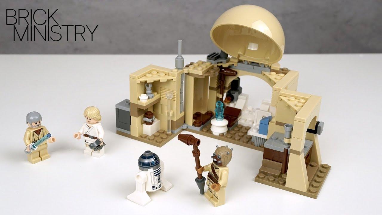 NEW! LEGO Star Wars 2020 ● Obi-Wan's Hut ● Speed Build [LEGO 75270]