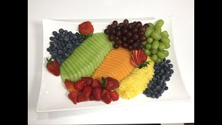 Fruit Platter - How To Make A Fruit Platter | Best Fruit Platter Video