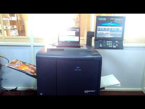 Bizhub Press C6000 Konica Minolta Multifunctional Printer and Photocopy Machine