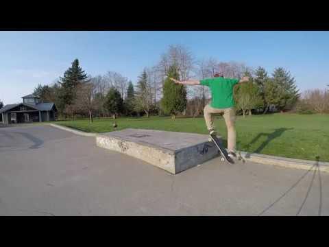 Olympia WA Skateboarding 2018 - Friendly Grove and Yauger Skateparks