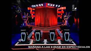"""Raisa y Lucía Rodríguez canta """"De mí enamórate""""   Audiciones a ciegas   La Voz Perú 2015"""
