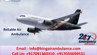 Best and Inexpensive Air Ambulance Service in Patna and Delhi by King